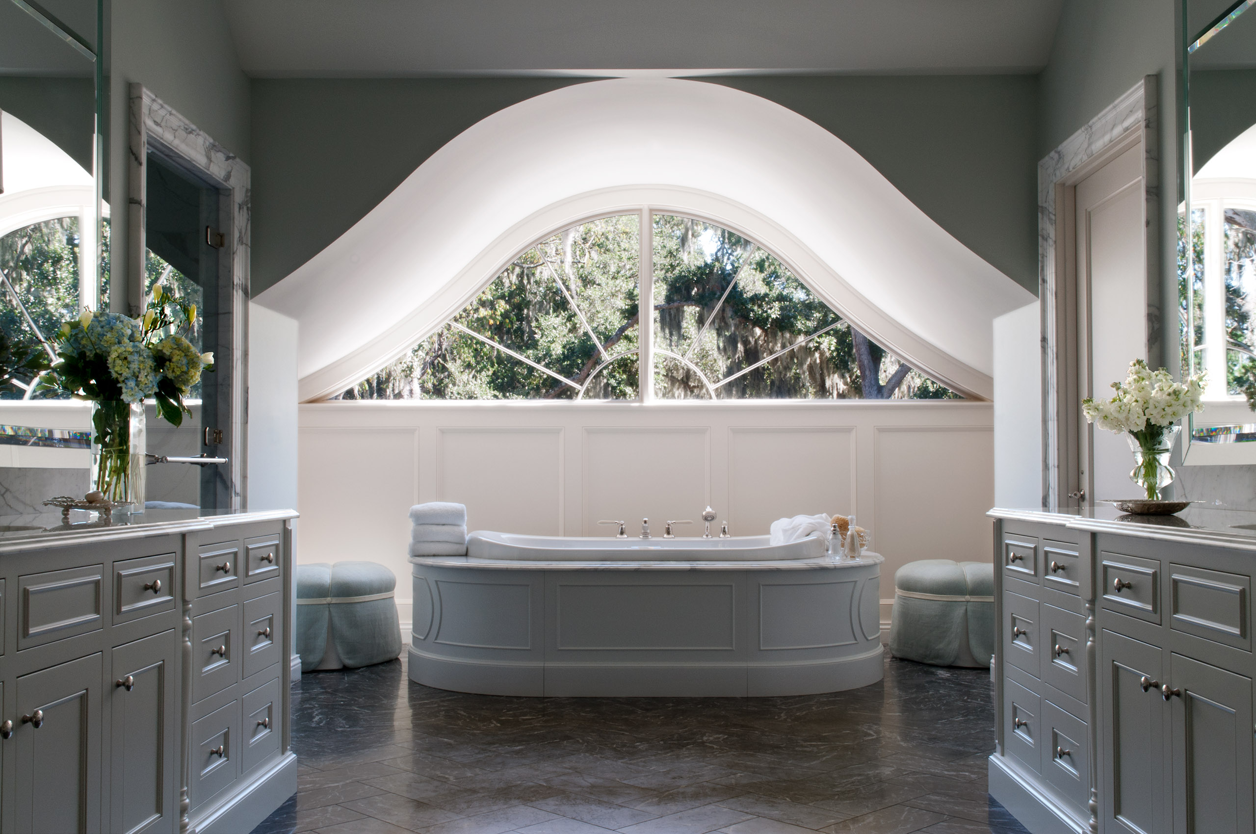 South Carolina Residence Master Bathroom